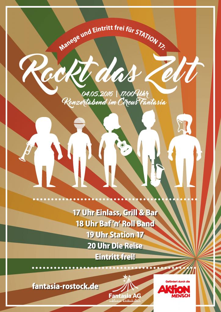 Rockt das Zelt - Konzert im Circus Fantasia