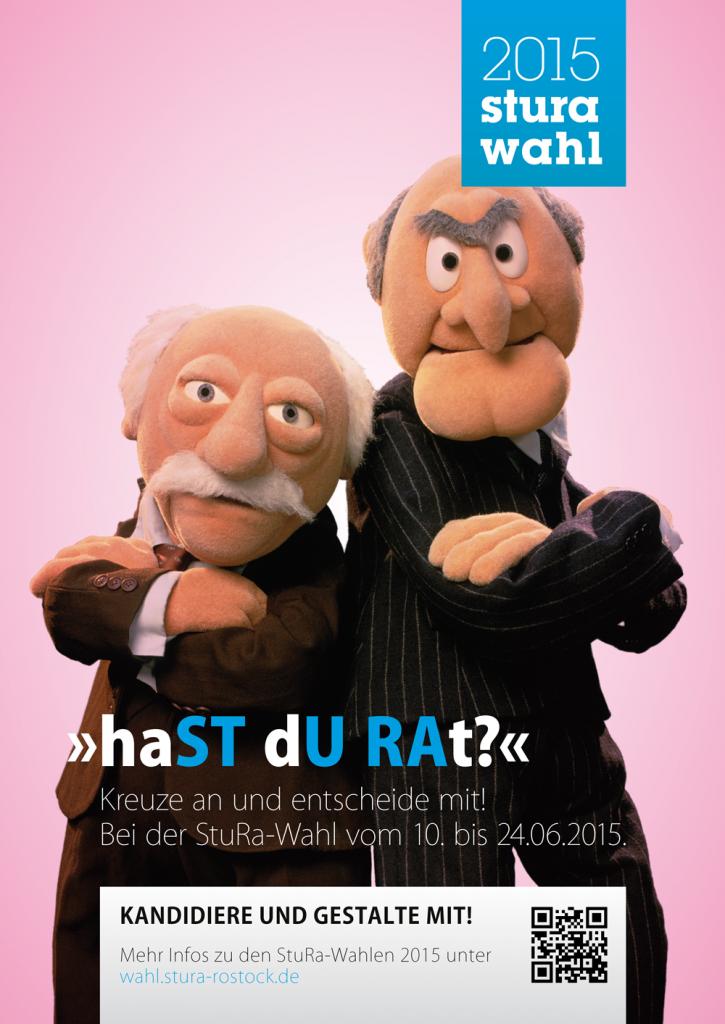 Wahlplakat StuRa 2015