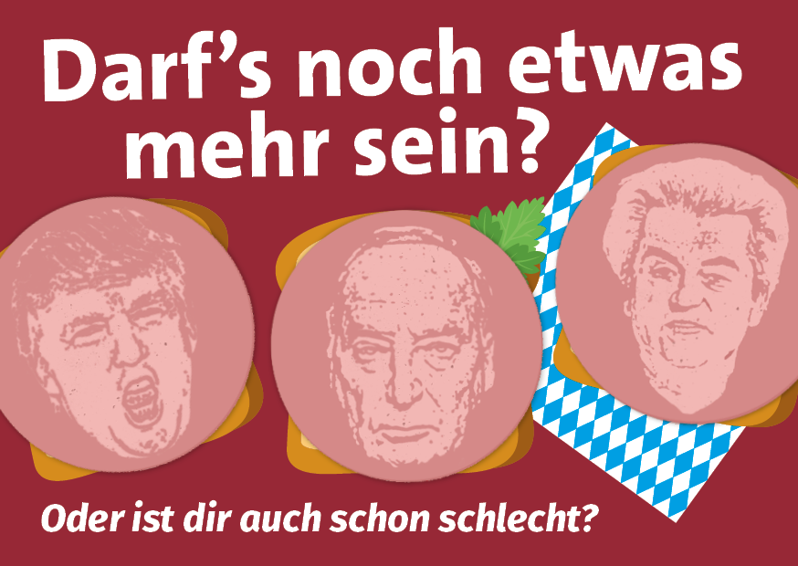 Postkarte NoGroko SPD Rostock KTV