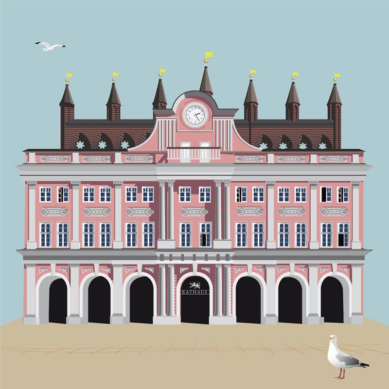 Rostock Postkarten